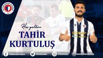 """""""TAHİR KURTULUŞ"""" FETHİYESPOR'DA"""