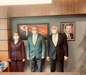 """VEKİLLER """"KADEM METE İLE YOLUMUZA DEVAM EDECEĞİZ"""""""