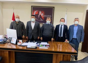 AK PARTİ FETHİYE MUĞLA'DA ZİYARETLERDE BULUNDU